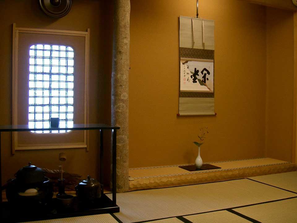 さかさ川 茶室