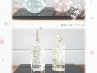 ガラスのお雛様 ~春の宴