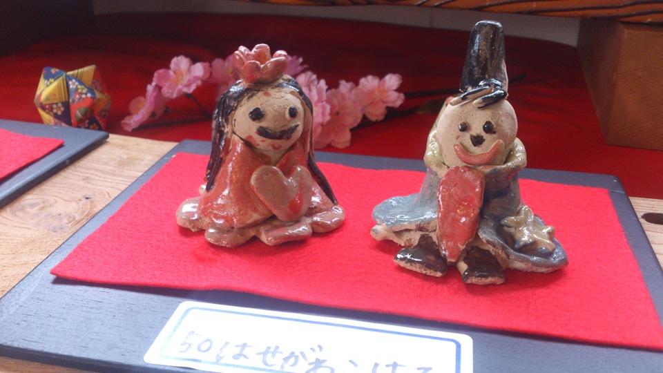 2014ギャラリーロード親子びな展